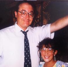 Joe and his daughter, Miriam Salerno
